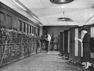 Resim3:İlk Bilgisayar Eniac